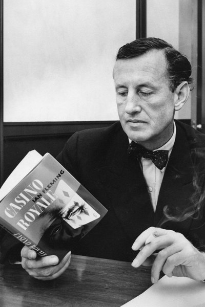 Ian Fleming reading Casino Royale