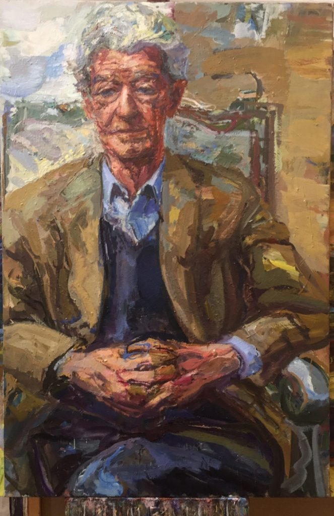 Portrait by Catherine Goodman, used with permission of Catherine Goodman and Marlborough Fine Art