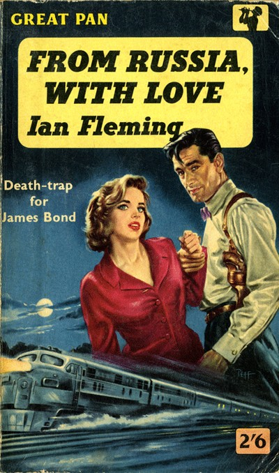 The first UK paperback, Great Pan, 1959
