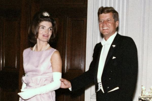 President and Mrs. Kennedy, 1963