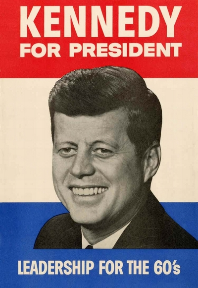 President Kennedy Campaign poster, 1960