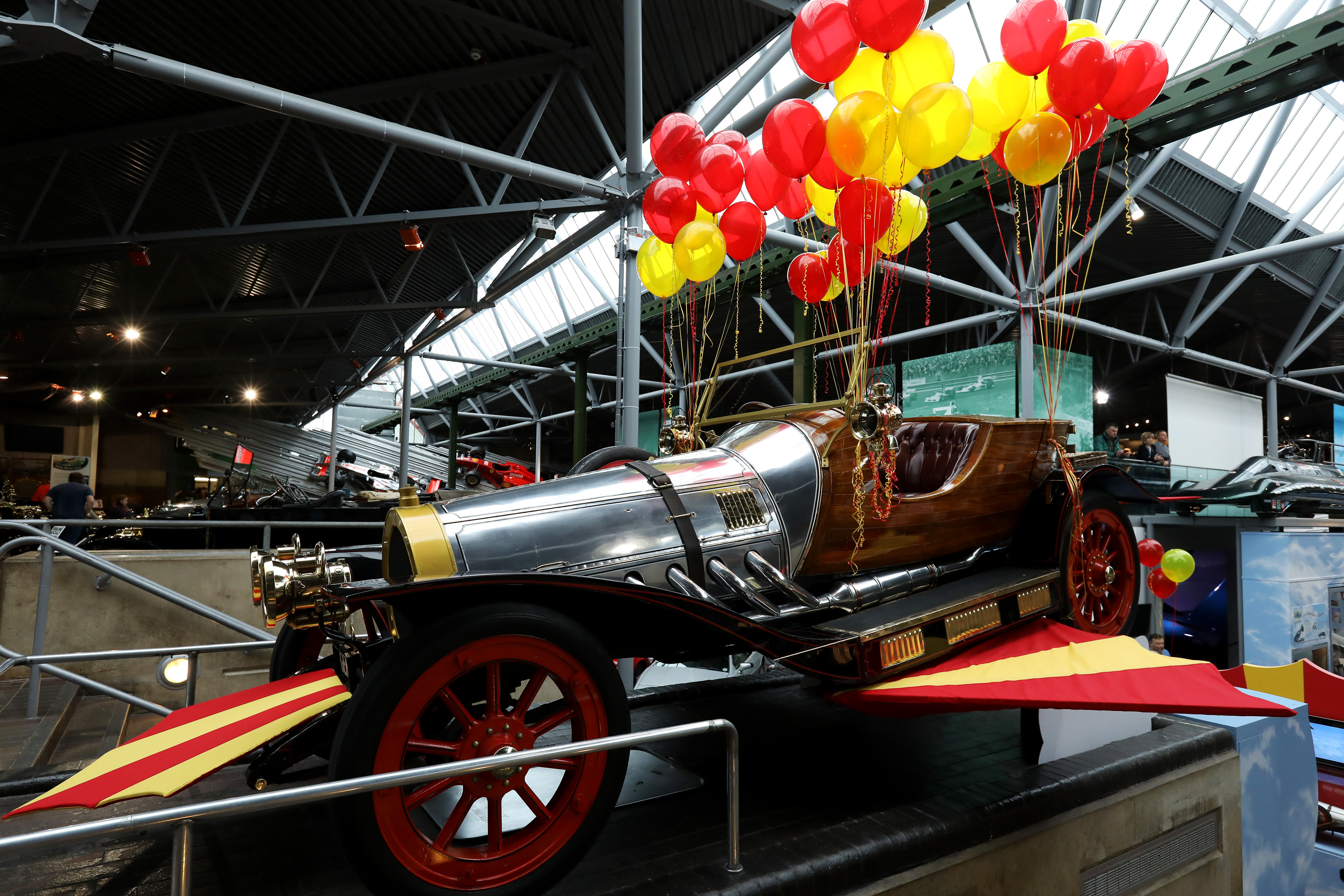 The opening of the Chitty Chitty Bang Bang 50 Years exhibition at the National Motor Museum, Beaulieu, Hampshire Picture: Chris Moorhouse