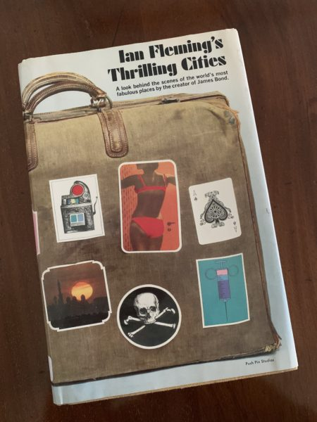 Thrilling Cities US cover