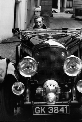 Ian Fleming in Bentley, 1962